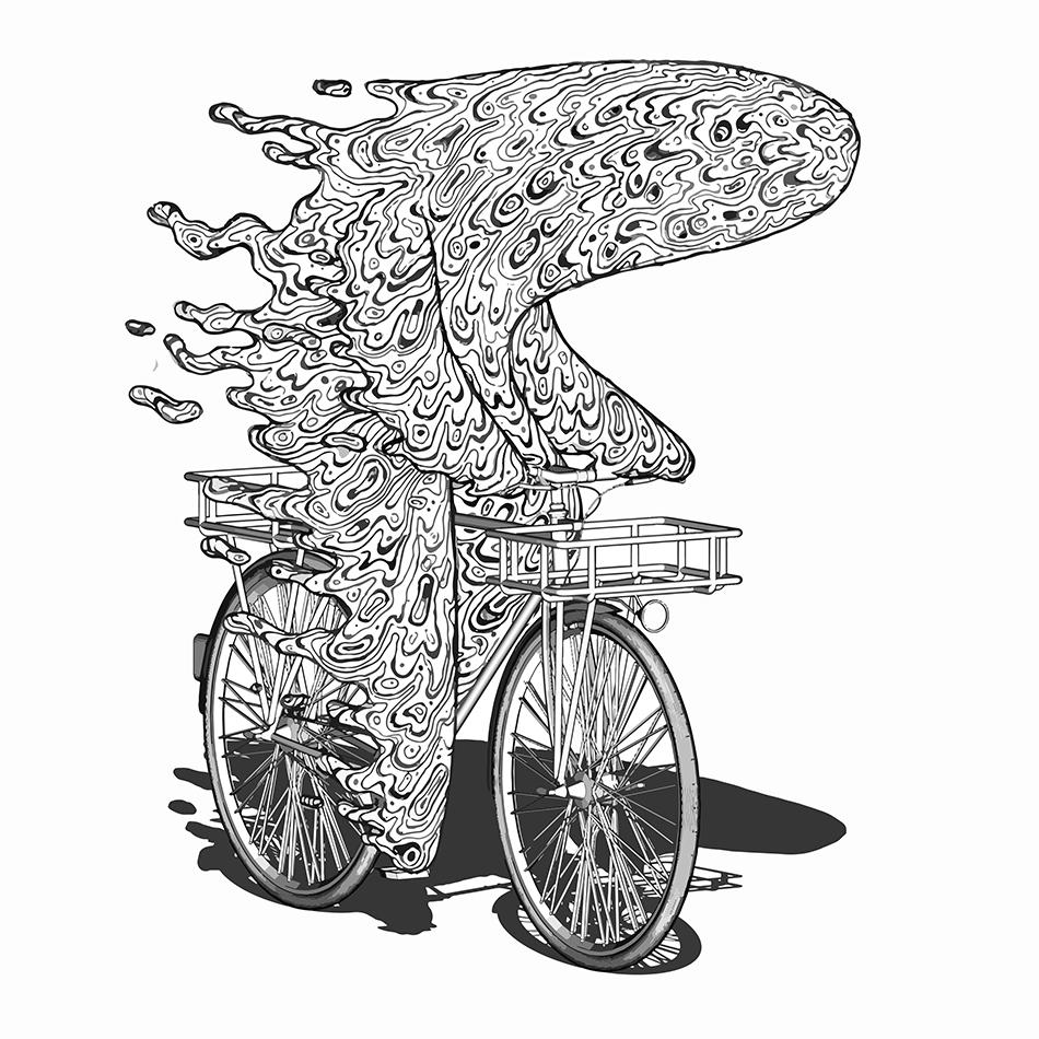 Bike Ride Hot Outsidesm